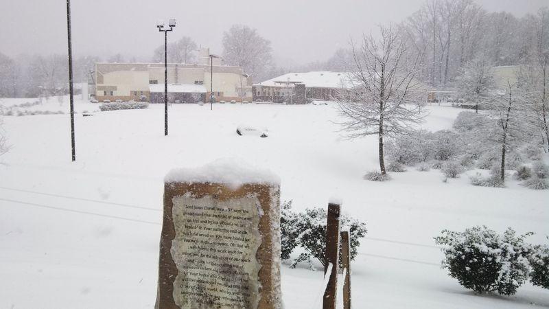 Snowylakeforestchurch