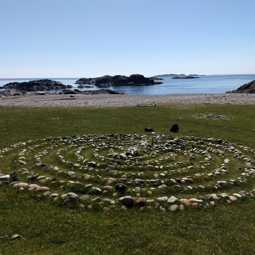 Prayer Labrynth at St Columba's Bay