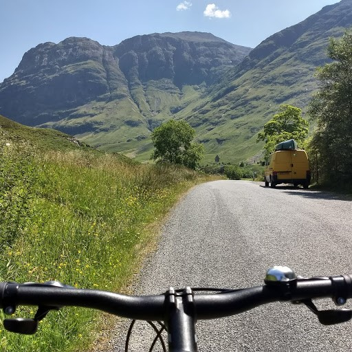 Mountain Biking in Glencoe Scotland